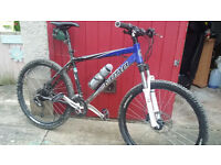 "KONA BLAST MOUNTAIN BIKE, MEDIUM SIZE FRAME, 26"" WHEEL, 24 SPEED"