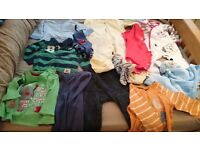 9-12 months baby clothes and free baby monitor