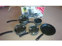 TEFAL cooking pan set 5 pieces