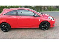 2015 reg Corsa limited edition ( new shape ) 1400 cc - MINT CONDITION- fsh -3000 miles
