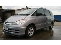 2001 | Toyota Previa CDX 2.4 VVTI | 1 FORMER KEEPER | LEATHER SEATS | SUNROOF | REAR PARKING SENSORS