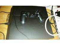 Ps4 1tb with 22 inch HD tv