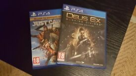 Just cause 3 and Deux Ex Mankind Divided