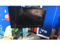 "46"" hitachi flat screen tv"