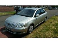 Toyota avansis t2 1.8 patrol 92k services history and mot