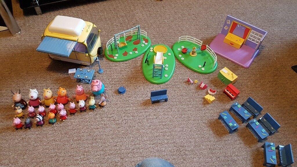 Peppa pig play sets