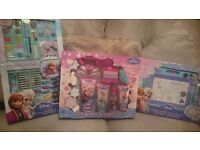 Disney Frozen Toys +Pamper Set New in Boxs