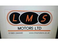 VEHICLE MECHANIC MOT TESTER REQUIRED IN OXFORD