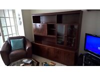 *FREE TO COLLECTOR* Mahogany Dresser/Display Cabinet