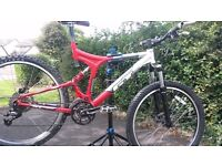 GT i-drive comp full suspension mountain bike £150