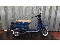 Brand new lexmotor Milano 50cc moped not vespa