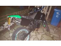 50cc crosser swaps for a 125