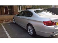 BMW 520D 2010 F10 silver mint condition