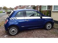 FIAT 500 LOUNGE 1 .2, SPECIAL EDITION, LOW MILAGE ONLY 40K, 3 LADY OWNERS, EXCELLENT SPEC