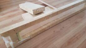 5 Tier Pine Wood Shelving Unit