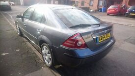 2005 FORD MONDEO, ESTATE DIESEL 2.2l, 6 SPEED MANUAL WITH 11mths MOT.