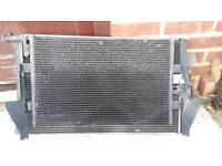 Seat leon cupra r or audi s3 , tt 225 bam radiator and fans Used and working