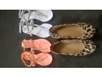 Women's size 4 shoe bundle