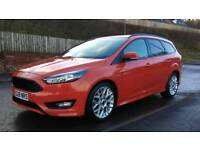 FORD FOCUS 1.5TDCI 120BHP ST LINE ESTATE 66 PLATE
