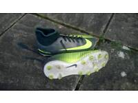 Nike mercurial football boots.