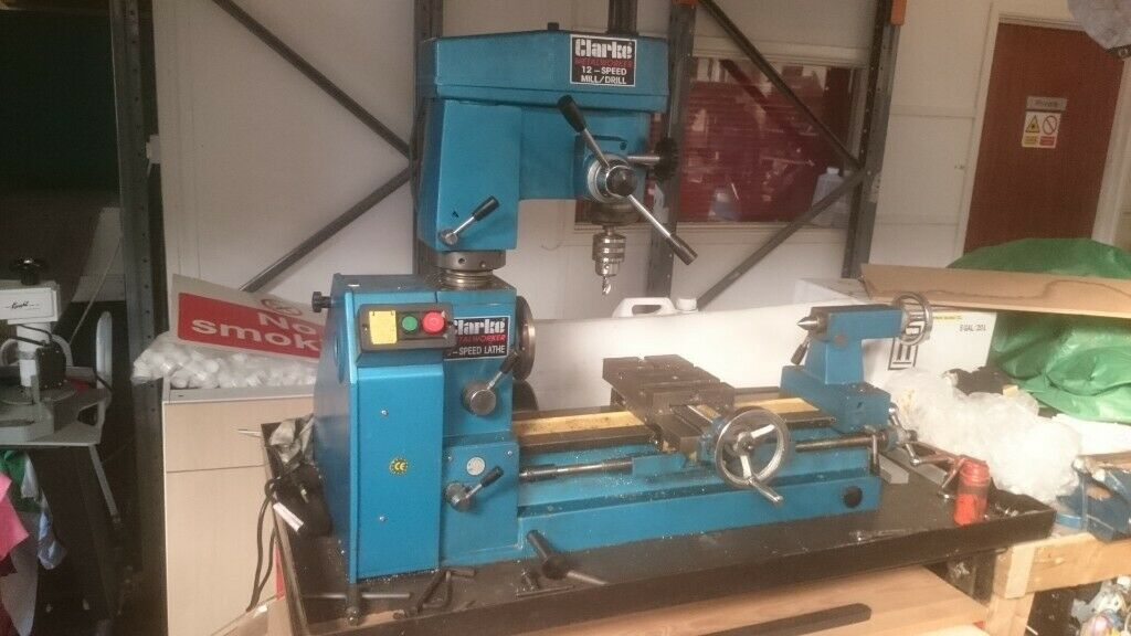Clarke CL500M Metal Lathe with Mill/Drill | in Saltash, Cornwall | Gumtree
