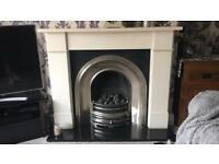 Fireplace & surround