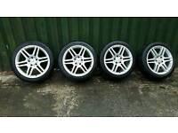 """Mercedes 17"""" AMG Alloys"""