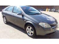 9 Months MOT, Sat Nav,Excellent Condition,2004 Nissan Primera ,£1,200(Like Vw,BMW, Astra, Audi,Ford)