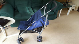 Mamas & Papas Swirl Pushchair Navy Blue Very Good Condition Still available 23.04