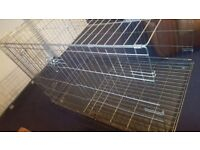 Large dog cage for sale excellent condition for sale 40 pounds buyer must collect