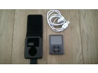 IPOD NANO 16GB SILVER BLACK