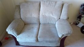 *FREE* Lovely Traditional Style Sofa Suite - 2 seater, 1 seater and footstool