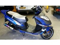 LEXMOTO 125 SCOOTER,FAST TUNED 2014 GLADIATOR,