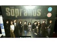 Dvd box set sopranos full series sealed