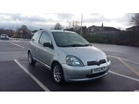 Toyota Yaris 1.3 16v VVTi, only 1 owner, long MOT, HIP clear, Very beautiful drive