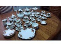 Royal Albert Bone China Tea Set , Old Country Roses