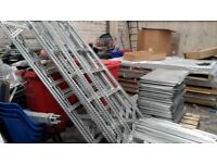 Galvanized Metal Shelving 1000x600x2400mm for sale