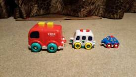 Little Tikes stacking emergency vehicles set