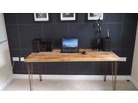 Vintage hairpin desks-made to order