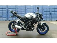 Yamaha mt 125 abs 2015