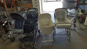 BABY STROLLERS in Excellent condition / Poussettes de bébé en bonne condition GRACO EDDIE BUGABOO QUINNY EVENFLOW JOGGER