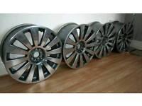 "Audi a6 19"" multifit polished alloys"