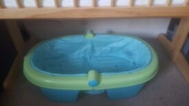 Folding Bath for infant to toddlers- Blue