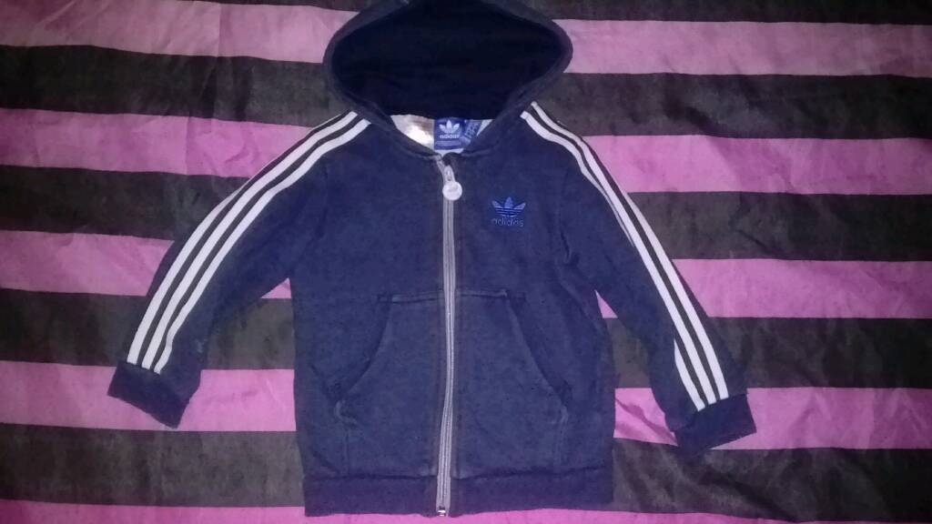 Adidas zip up hoody age 5-6yrs