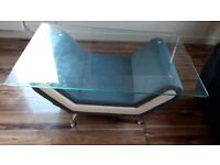 Coffee table in grey/white RRP 199