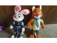 small judy and nick from zootroplois disney