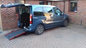 Peugeot Partner RE Wheelchair Accessible Vehicle