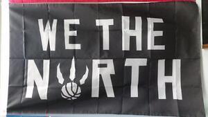 "Raptors ""We The North"" Flag - 5' X 3' Large"