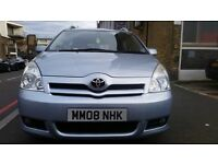Toyota Verso 7 Seater Used in a good condition For Sale 56,000 miles