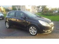 VAUXHALL CORSA 1.4 SXI 2008 5 DOOR 1 PREV OWNER SERVICE HISTORY 1 YEAR MOT STUNNING NOT ASTRA PUNTO